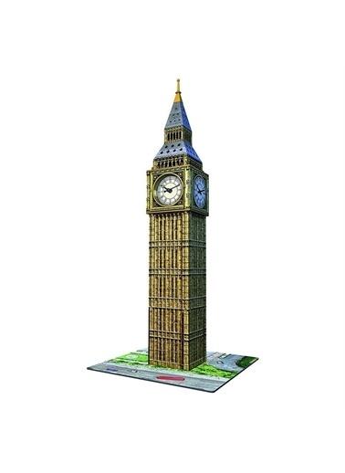 Ravensburger 3D Puz Big Ben ve Saat 125869 Renkli